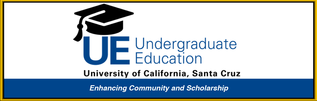 division of undergraduate education enhancing community and scholarhship